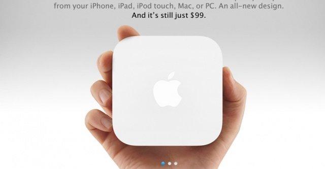 Apple oppdaterte også AirPort Express i går.
