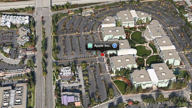 Jobber Apple med å hente inn Google Maps-eksperter?