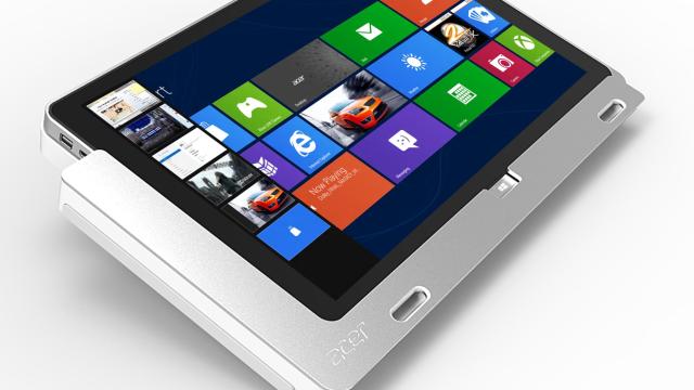 Acer lanserer to Windows 8-nettbrett, mest sannsynlig er de klare i oktober, samme måned som Windows 8 ventes. Dette er W700.