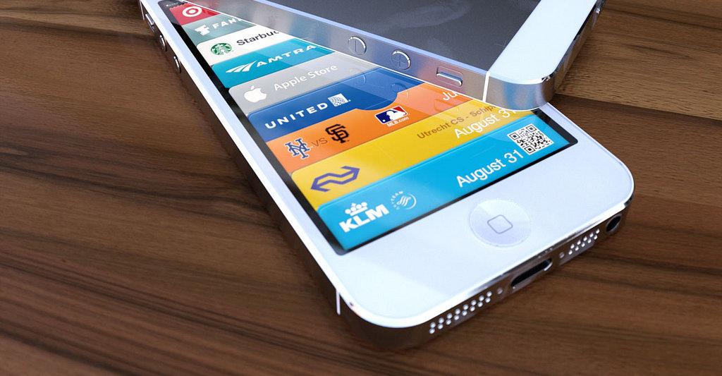 Slik blir trolig iPhone 5 i hvitt.