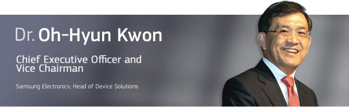 Dr. Oh-Hyun Kwon, Samsungs toppsjef.