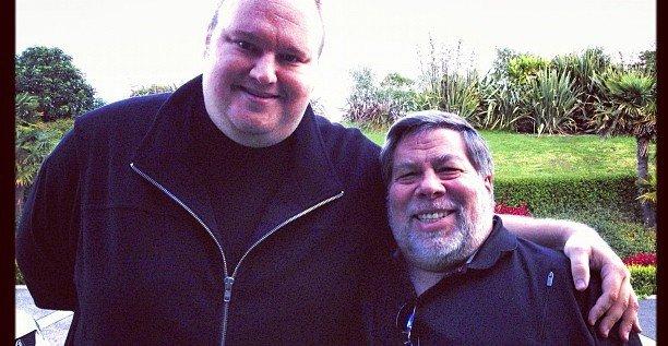Megaupload-gründeren Kim Dotcom fikk i forrige uke uventet støtte fra en annen gründer, Steve Wozniak. Nå har han godt håp om å få saken avvist i USA.
