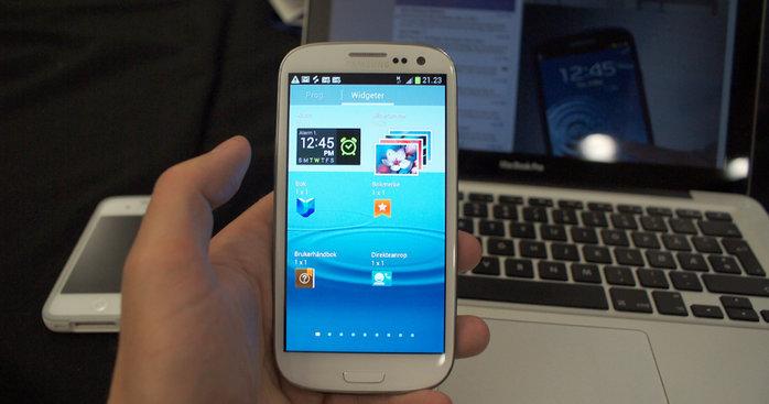 Denne telefonen er stadig oftere å se. I løpet av juli vil 10 millioner ha kjøpt den, hevder Samsung.