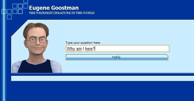 Eugene Goostman er en fiktig 13-åring som har svar på det meste.