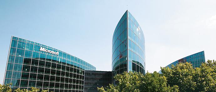 67 skatteinspektører og 30 politifolk raidet Microsofts franske hovedkontor for en uke siden.