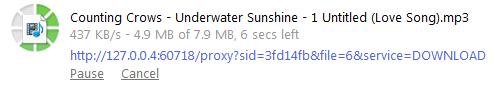 Stort enklere blir det ikke: slik så det ut når vi lastet ned en fil med Torque-utvidelsen til Google Chrome.