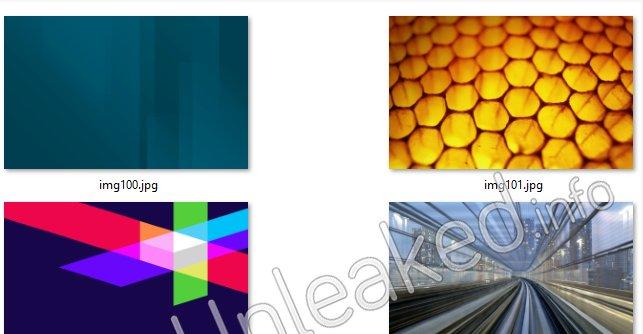 Her et utvalg skjermsparere for Windows 8.