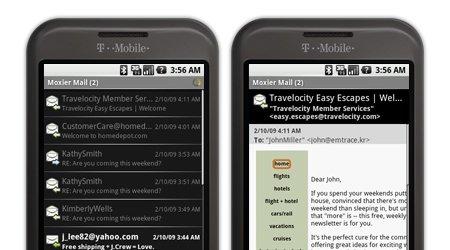 Å lese jobbmail på mobilen kan være risikabelt.