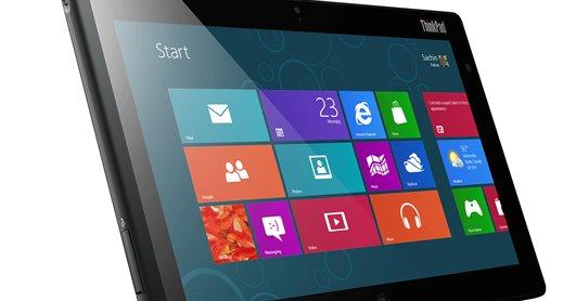 Et flott og stilrent design med Windows 8 Pro.