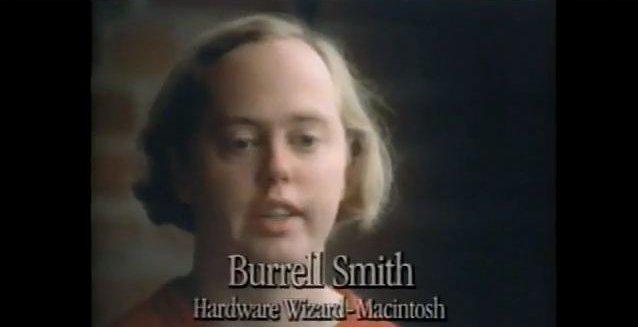 Her skryter Burrell Smith så hemningsløs av Mac at han til slutt blir sensurert...