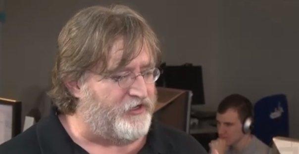 Valve-sjef Gabe Newell snakker mye om maskinvare for tiden. Hvor er Half-Life 3?!