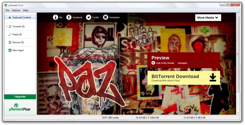uTorrent 3.1.