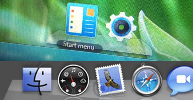 Ikke helt ulikt programvelgeren i OS X.