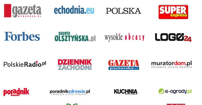 Noen av publikasjonene som omfattes av betalingsmuren.