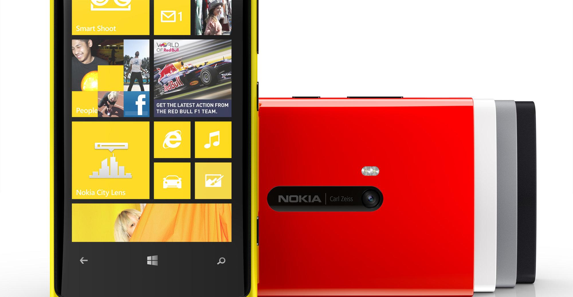 Nokia Lumia 920 selger ikke så verst, men har endel fett å trimme bort.
