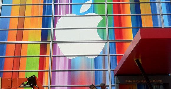 Med dette bildet har Apple bekreftet at iPhone 5 får større skjerm i forkant av lanseringen onsdag denne uken.