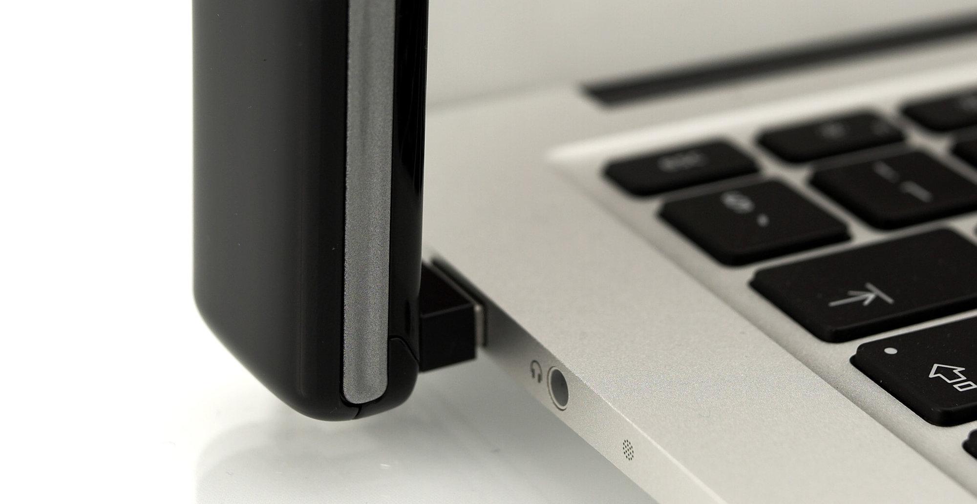 ZTEs MF821D 4G-dongel til PC og Mac.