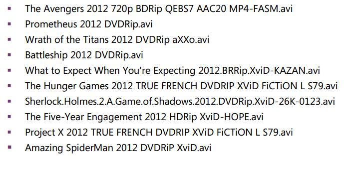 Disse filmene inneholder skadevare.
