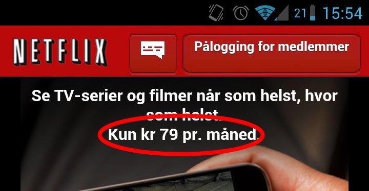 Prisen avslørt: 79 kroner måneden akkurat som HBO Nordic. ITavisen.no møter Netflix-grunder Reed Hastings førstkommende onsdag, så følg med.