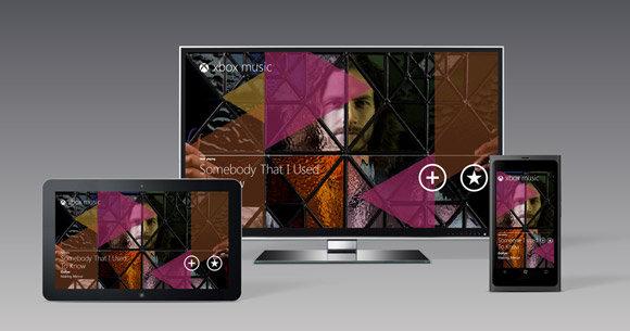 xBox Music kan bare streames til «8»-enheter.