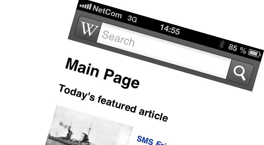 230 millioner kan nå slå opp på Wikipedia med mobilen sin uten å tenke på telefonregningen.