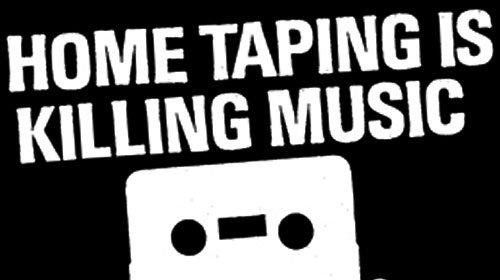 Platebransje-organisasjonen RIAA slår tilbake mot påstandene om at de verste piratene også er de beste kundene. Her en advarsel fra 80-tallet...