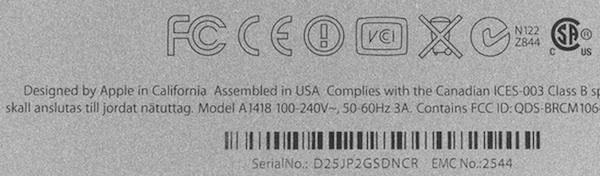 «Designed by Apple in California. Asembled in USA», står det på iMac-kabinettet. Hæ?