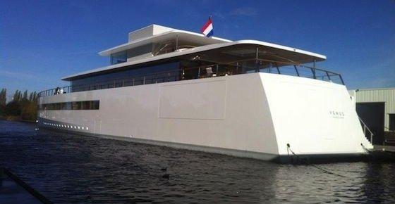 Steve Jobs luksusbåt Venus kan nå endelig legge ut på seilas.