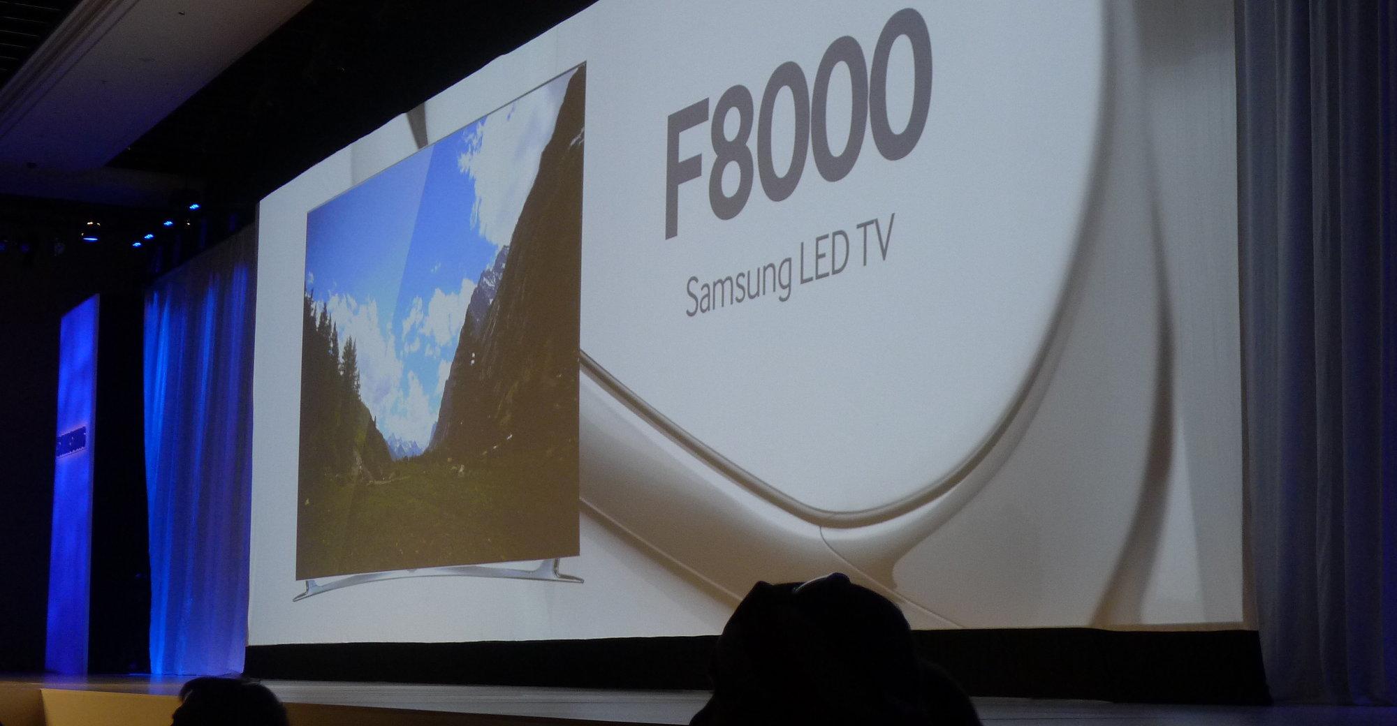Samsungs nye TV med kraftig CPU og et nytt brukergrensesnitt.