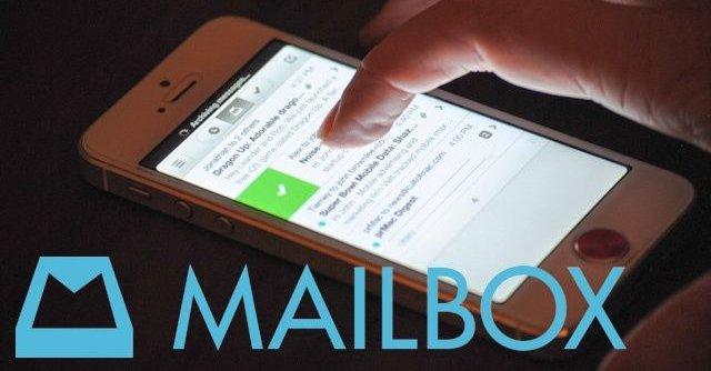Mailbox skrytes opp i skyene.