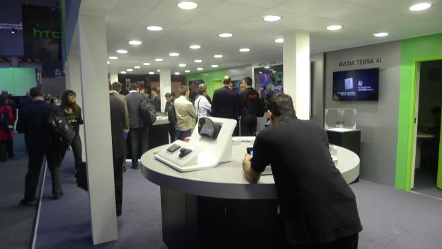 Nvidia har langt fra den største representasjonen, men har til gjengjeld veldig kul teknologi.