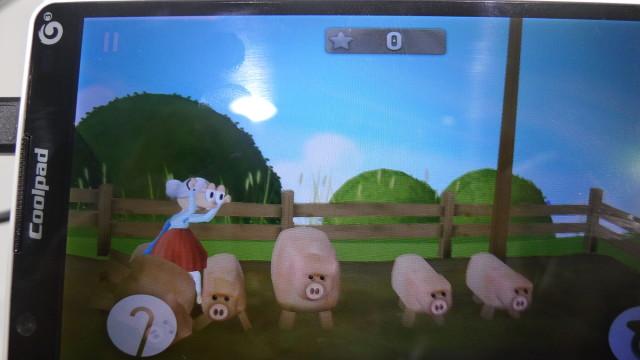 Besta på syretur i grisebingen.